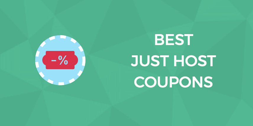 Just Host Coupons
