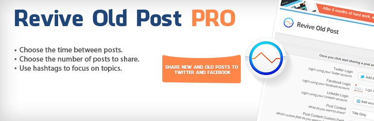 revive old post pro wordpress plugin