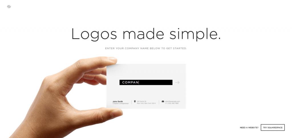 squarespace free logo maker