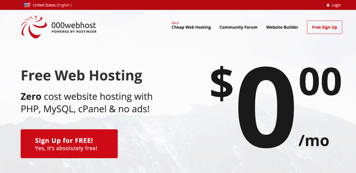 How to use your 000Webhost Promo Code
