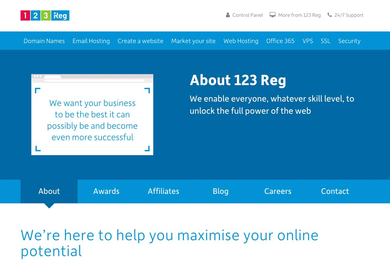 123 Reg review