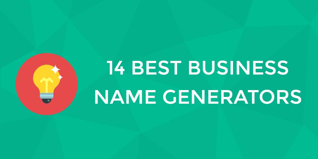 14 Best Business Name Generators