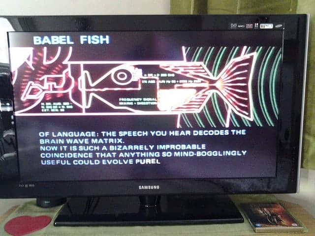 Babelfish screenshot