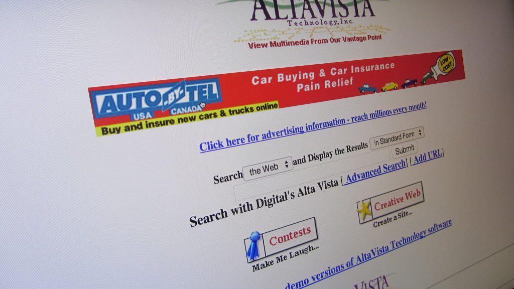 AltaVista in the 90s