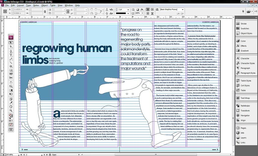 InDesign work by My name is Mike