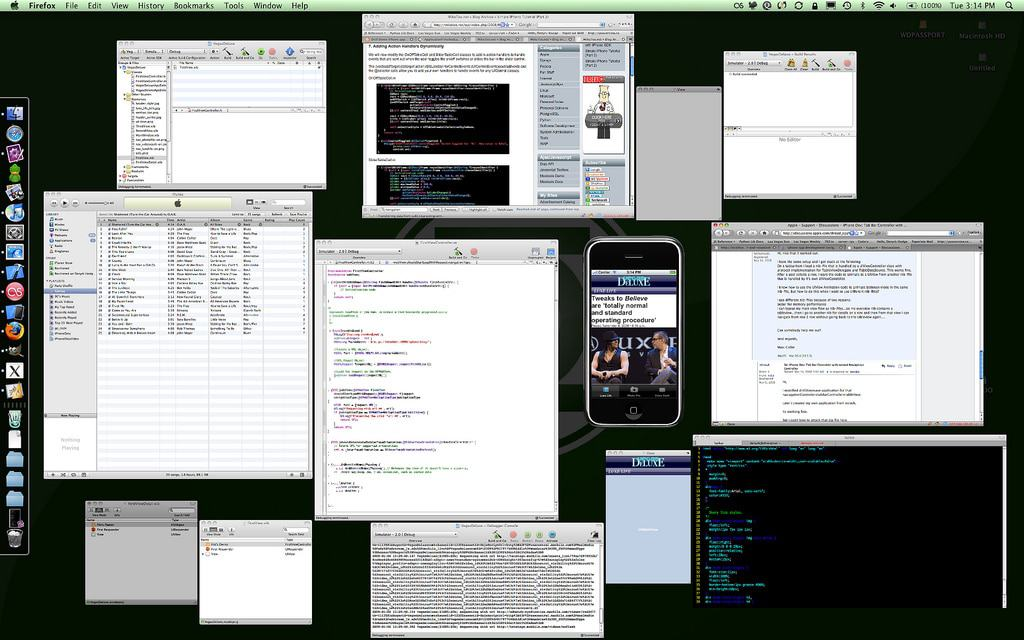 iPhone App Dev is Messy
