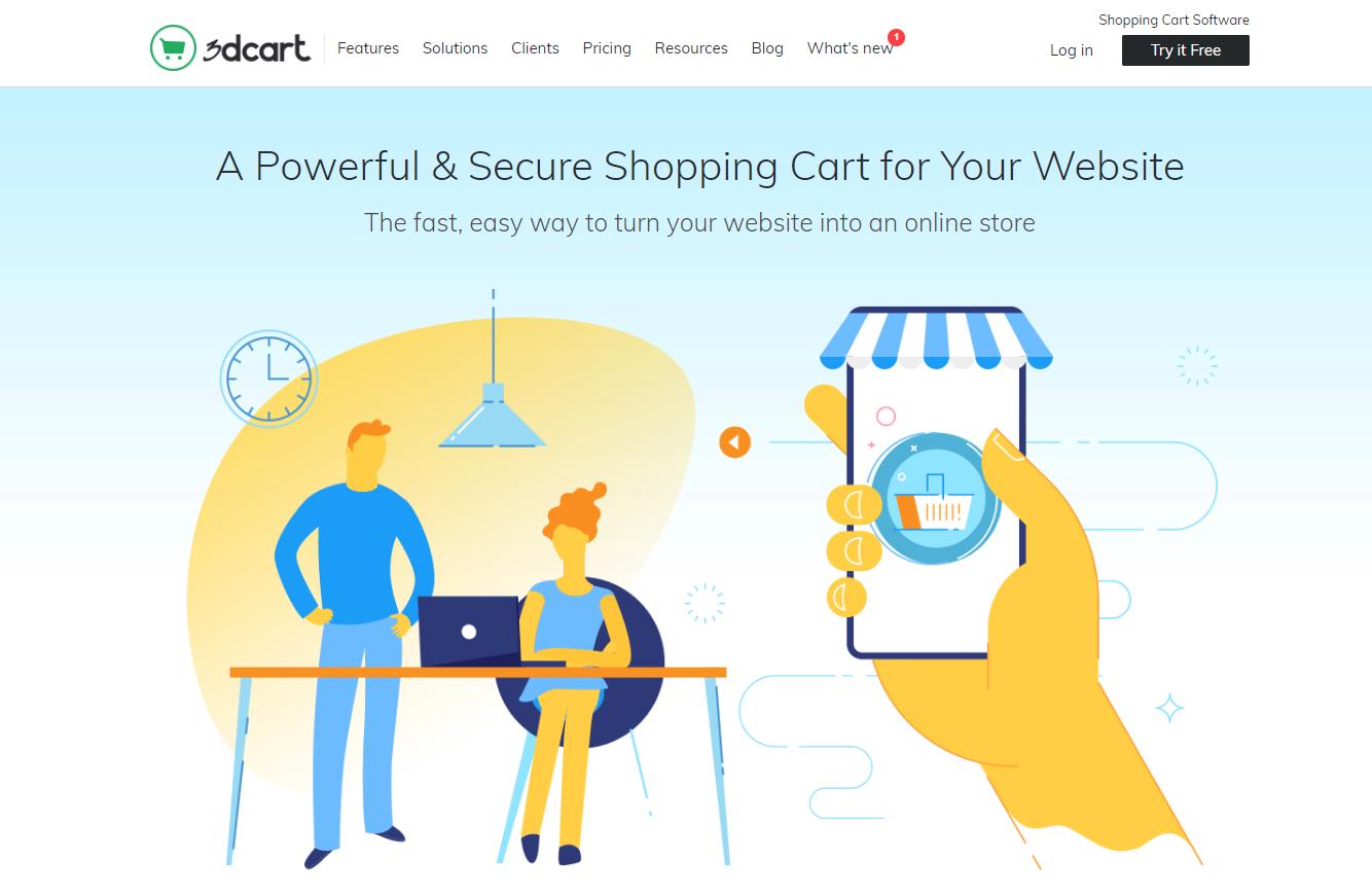 3dcart shopping cart