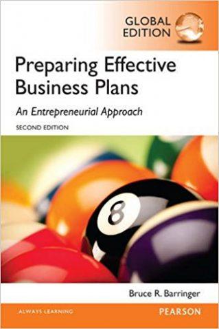 Preparing Effective Business Plans - Bruce Barringer