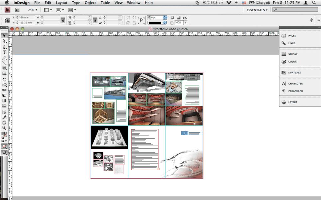 Making a Portfolio in InDesign