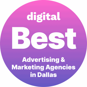 Best Advertising and Marketing Agencies in Dallas Badge