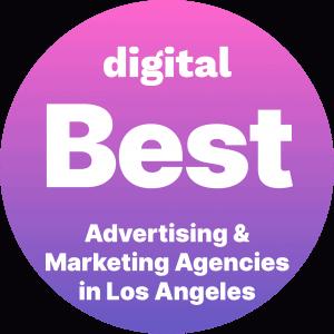 Best Advertising and Marketing Agencies in Los Angeles Badge