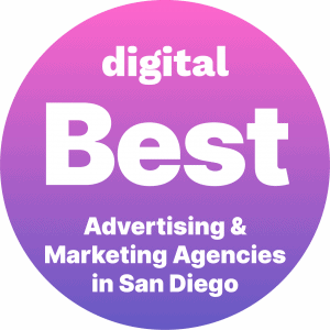Best Advertising and Marketing Agencies in San Diego Badge