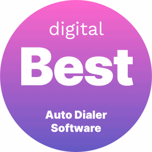 Best Auto Dialer Software Badge