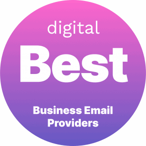 Best Business Email Providers Badge