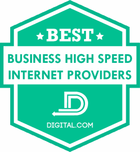 Best Business High Speed Internet Providers of 2020 Badge