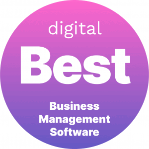 Best Business Management Software Badge