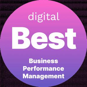 Best Business Performance Management Badge