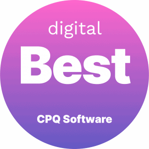 Best CPQ Software Badge