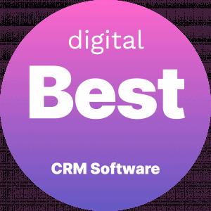 Best CRM Software Badge