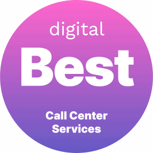 Best Call Center Services Badge
