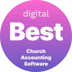 Best Church Accounting Software Badge