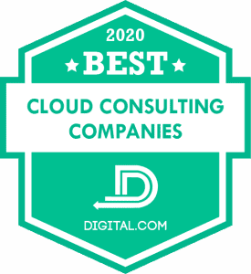 Best Cloud Consulting Companies Badge