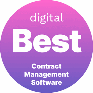 Best Contract Management Software Badge