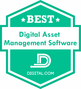 Best Digital Asset Management Software Badge