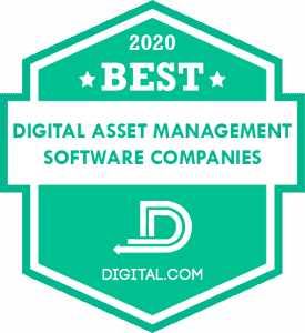 Best Digital Asset Management Software Companies of 2020 Badge