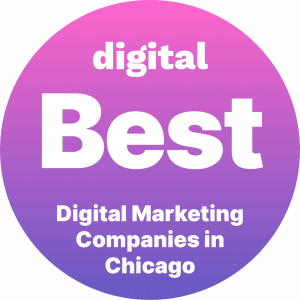 Best Digital Marketing Companies in Chicago Badge