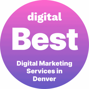 Best Digital Marketing Companies in Denver Badge