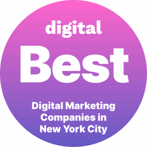 Best Digital Marketing Companies in New York City Badge