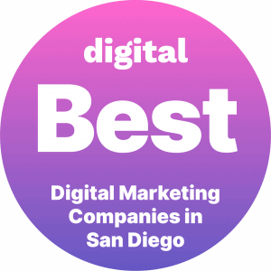 Best Digital Marketing Companies in San Diego Badge