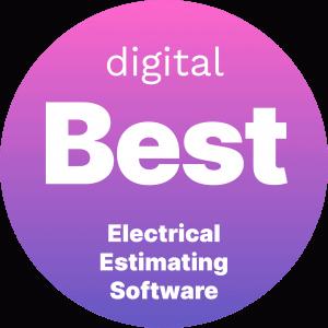 Best Electrical Estimating Software Badge