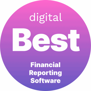 Best Financial Reporting Software Badge