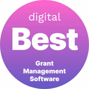 Best Grant Management Software Badge
