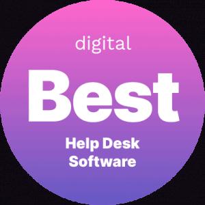 Best Help Desk Software Badge