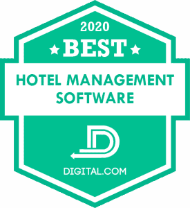 Best Hotel Management Software of 2020 Badge