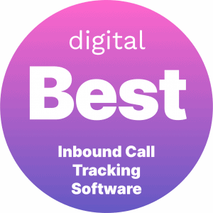 Best Inbound Call Tracking Software Badge