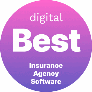 Best Insurance Agency Software Badge