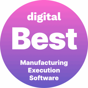 Best Manufacturing Execution Software Badge