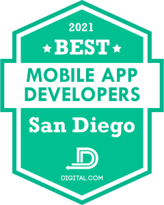 Best Mobile Application Developers in San Diego Badge