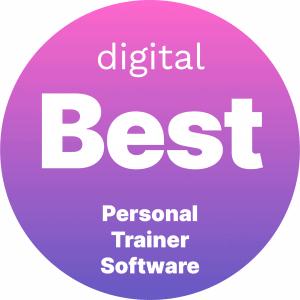 Best Personal Trainer Software Badge