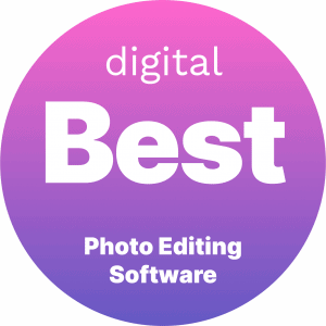 Best Photo Editing Software Badge