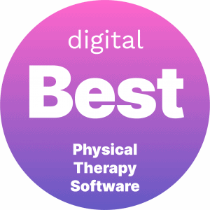 Best Physical Therapy Software Badge