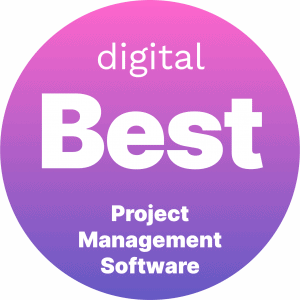 Best Project Management Software Badge