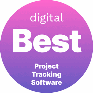 Best Project Tracking Software Badge