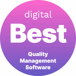 Best Quality Management Software Badge