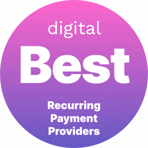 Best Recurring Payment Providers Badge
