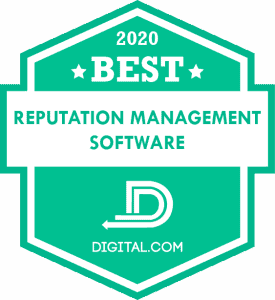 Best Reputation Management Software of 2020 Badge